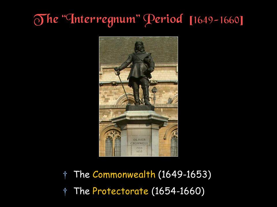 The Interregnum Period [1649-1660]